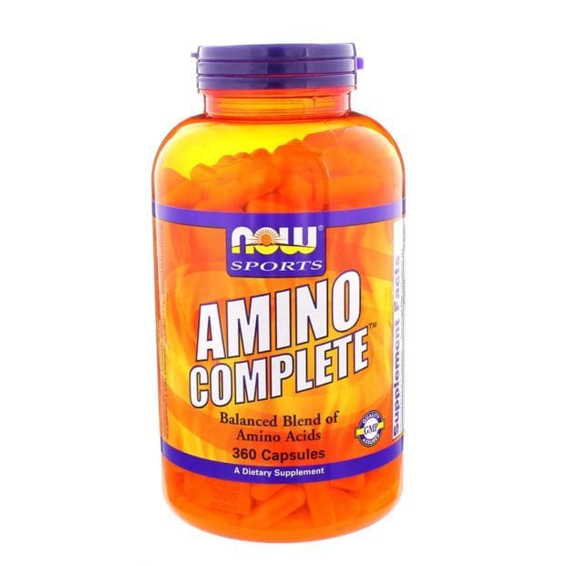 NOW sports amino acid supplements health and beauty product photography example