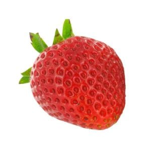 Strawberry fruit image in grocery and food product photography example