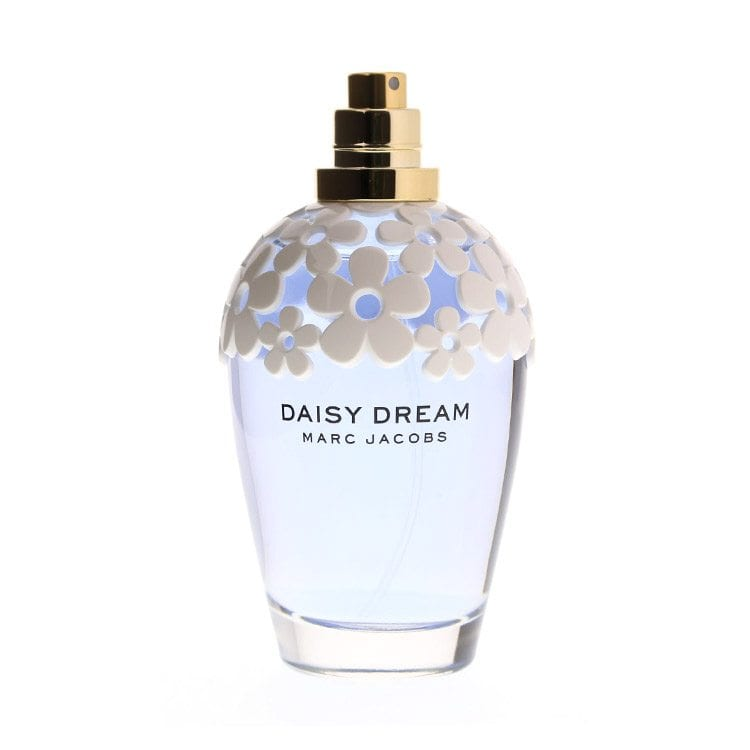 Daisy Dream perfume with floral design product photography example