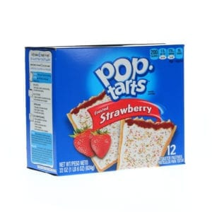 Ortery photography example grocery industry pop tarts shot on pure white background