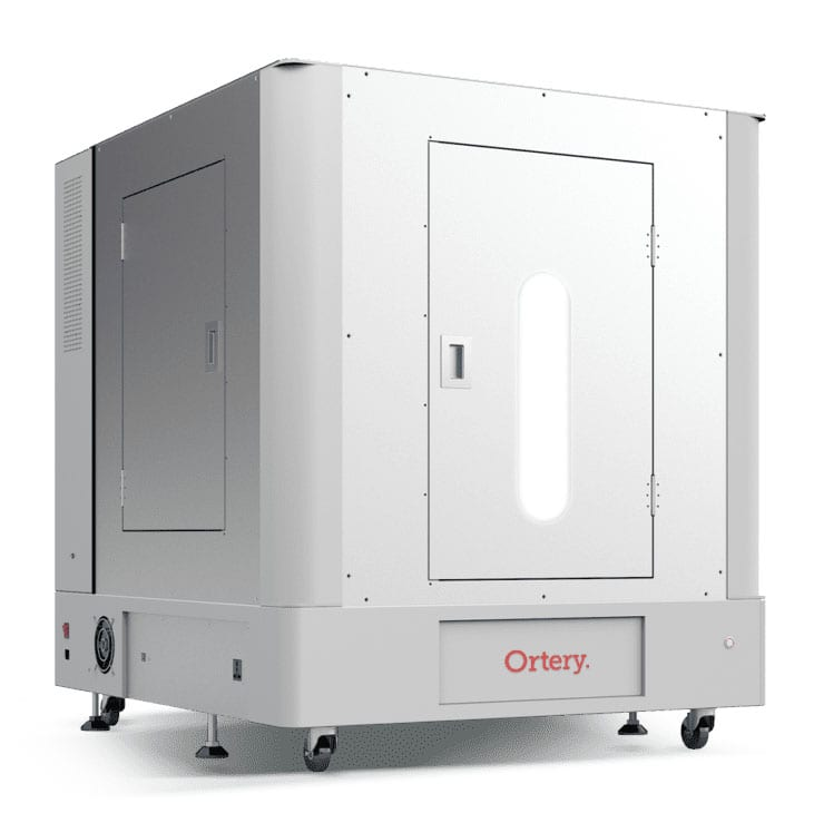 The NEW Ortery PhotoBench 280 is a large software-controlled product photography lightbox with a built-in turntable for creating 360 product photos on a pure white background.