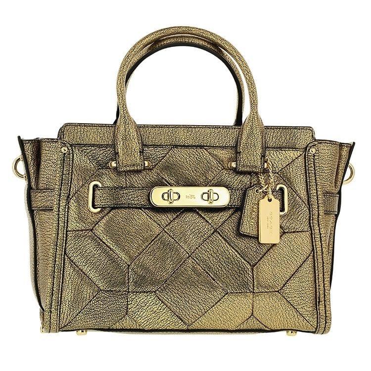 Coach hemispherical purse product photography example