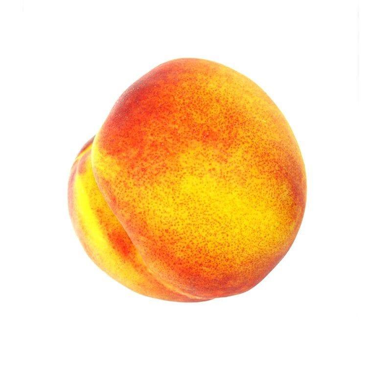 healthy fruit vegtable peach food product photography example