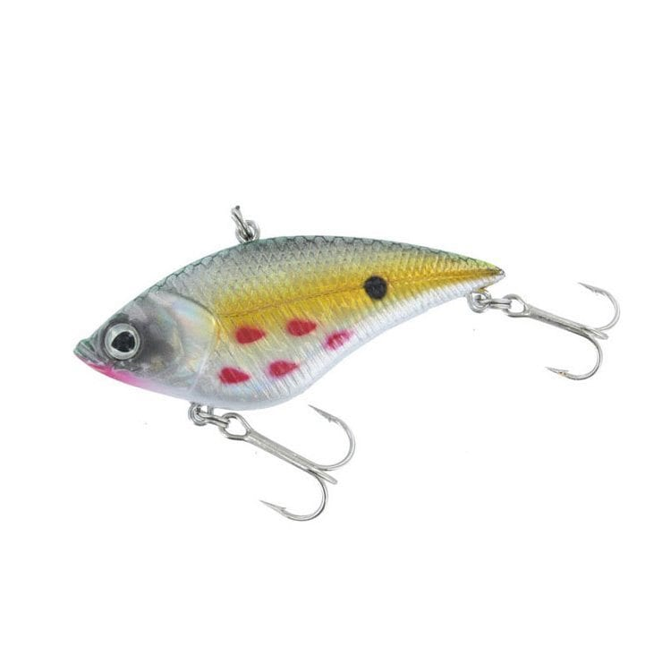 sparkling two hook prong fishing lure product photography example