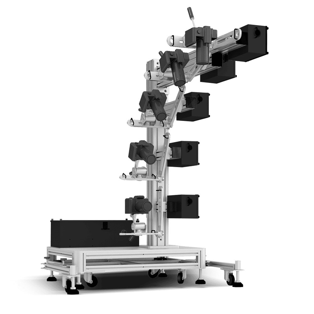 Ortery 3D MultiArm 2000 software controlled 3D product photography system.