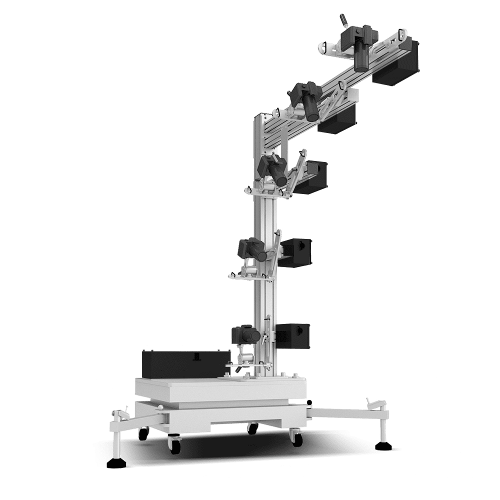 Ortery 3D MultiArm 3000 software controlled 3D product photography system
