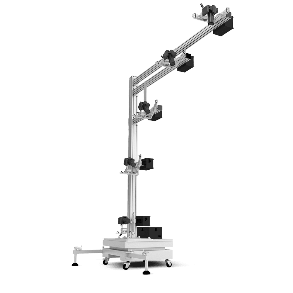 Ortery 3D MultiArm 4000 software controlled 3D product photography system