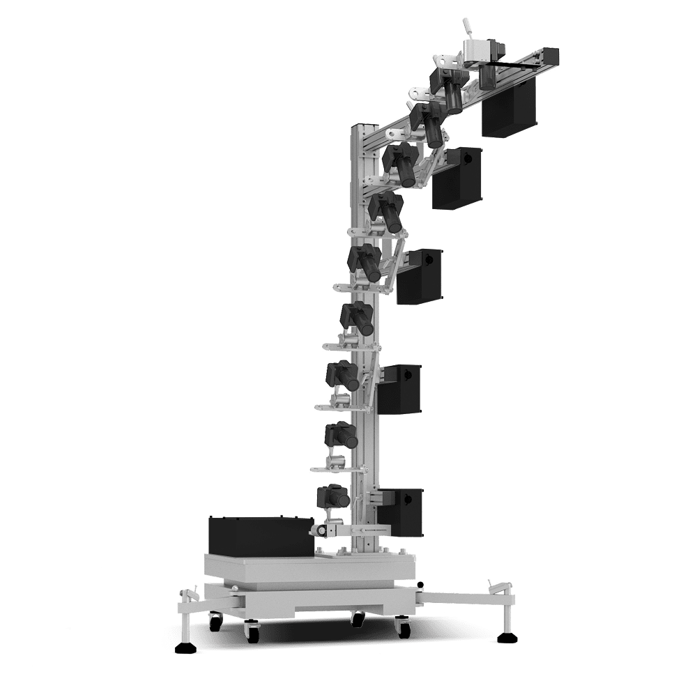 Ortery 3D MultiArm R10 software controlled 3D product photography system