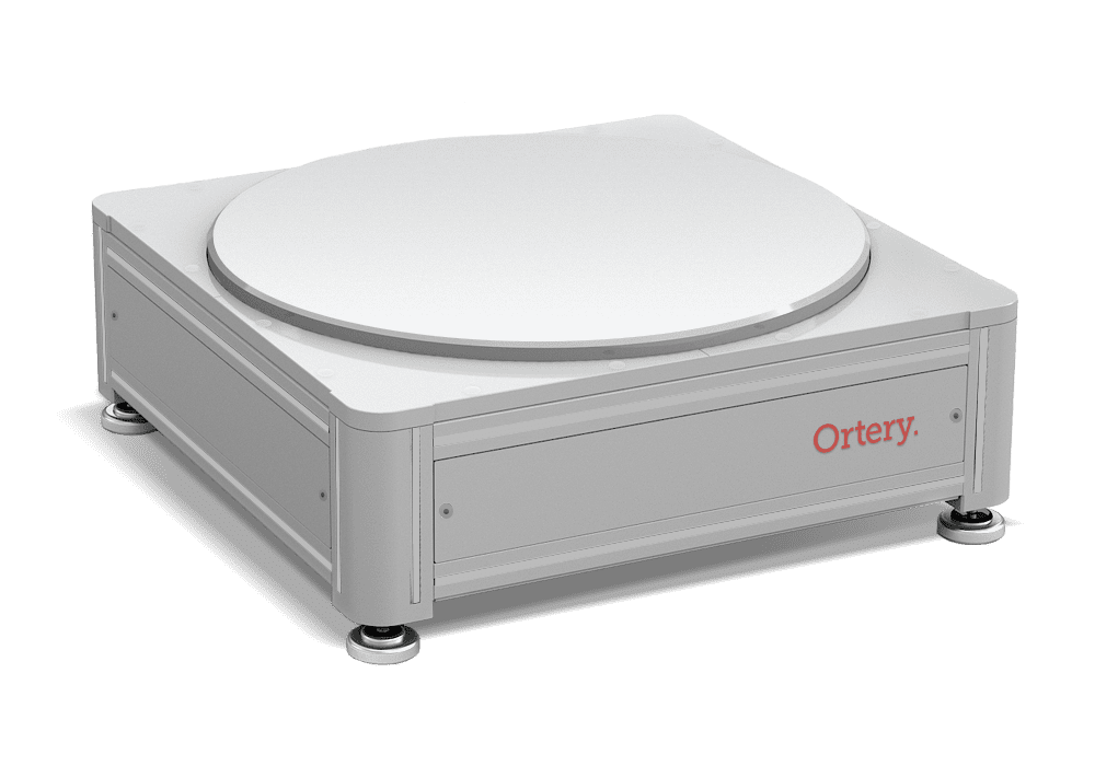 Ortery PhotoCapture 360L turntable for automatically creating 360 degree photos of large products weighing up to 600 lbs