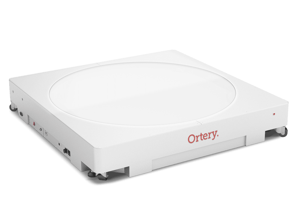 Ortery Infinity 360L - A large bottom-lit 360 product photography turntable