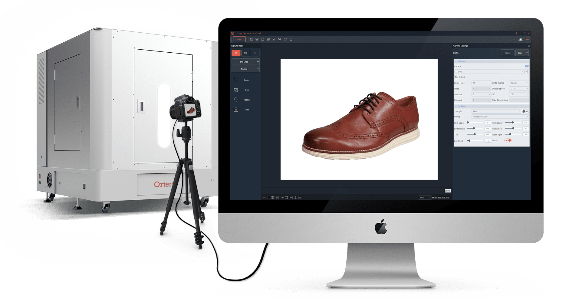 A demonstrations of how Ortery product photography hardware and software works together to make Amazon photography easy.