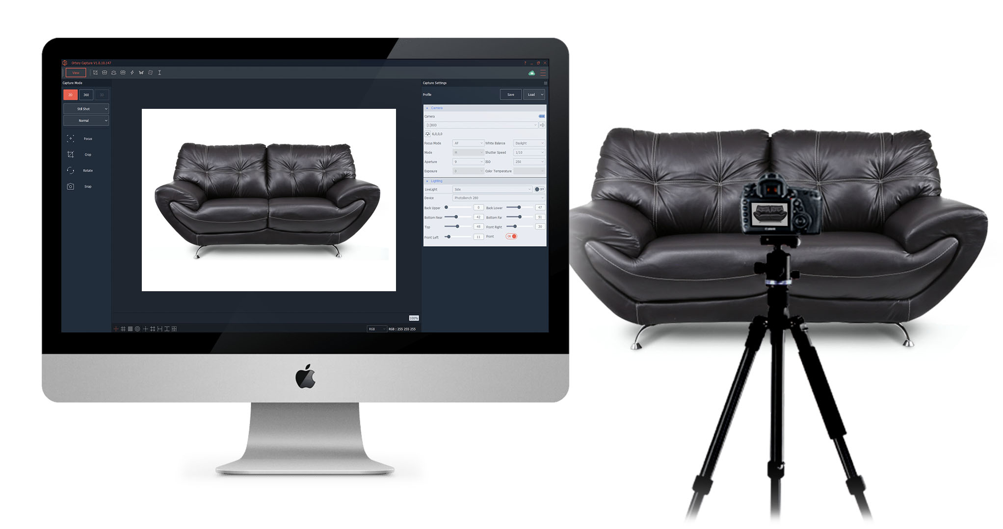 software-controlled-ortery-furniture-photography-system